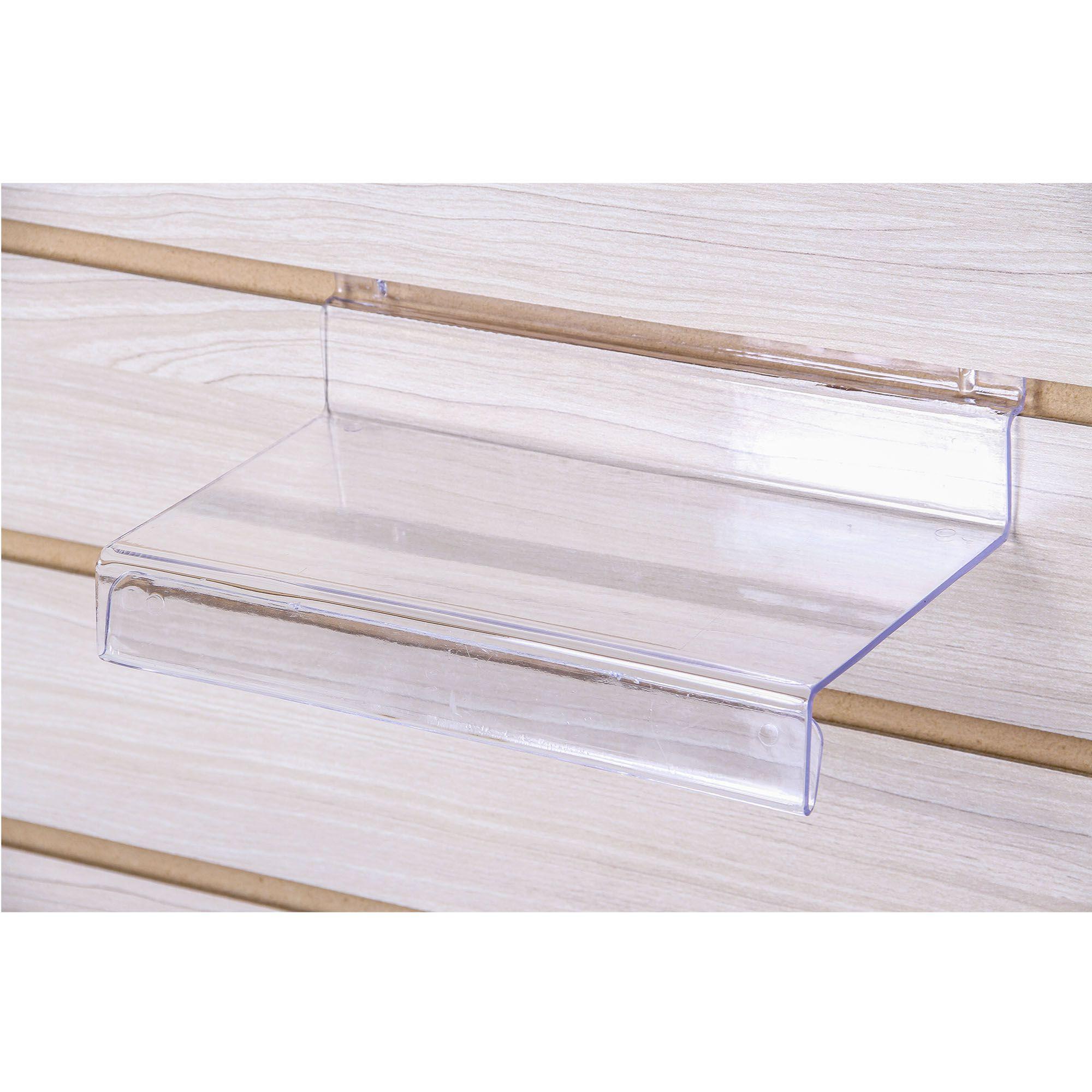 Plataforma Calçado Adulto Transparente para Painel Canaletado