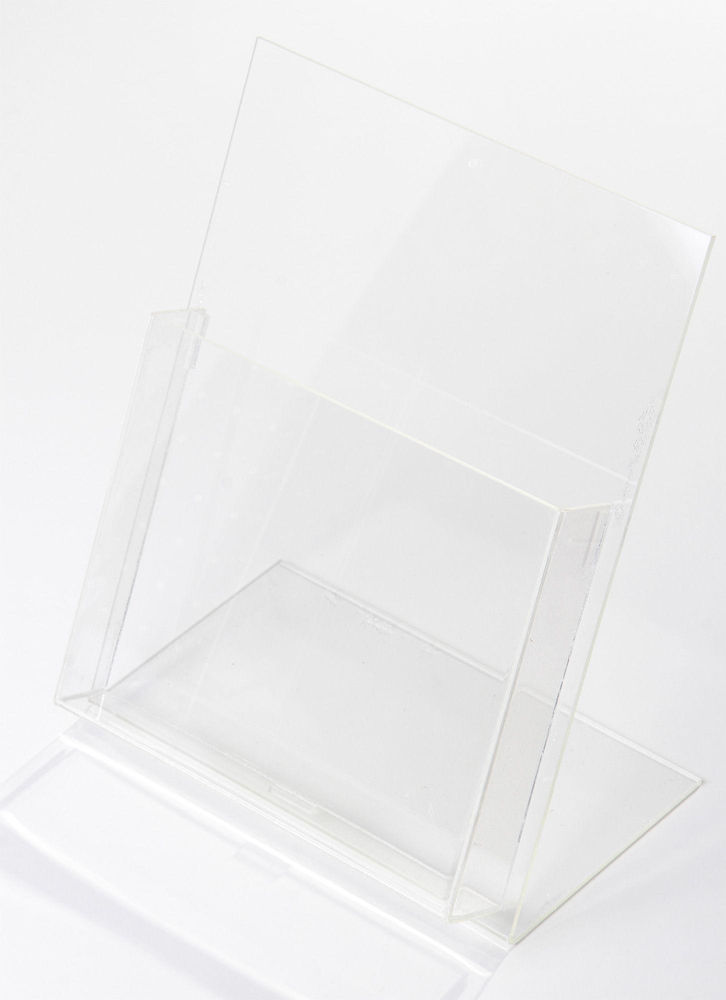 Porta Panfleto A4 Transparente