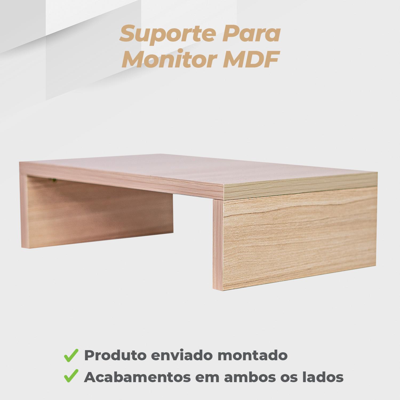 Suporte Monitor MDF Ciliegio