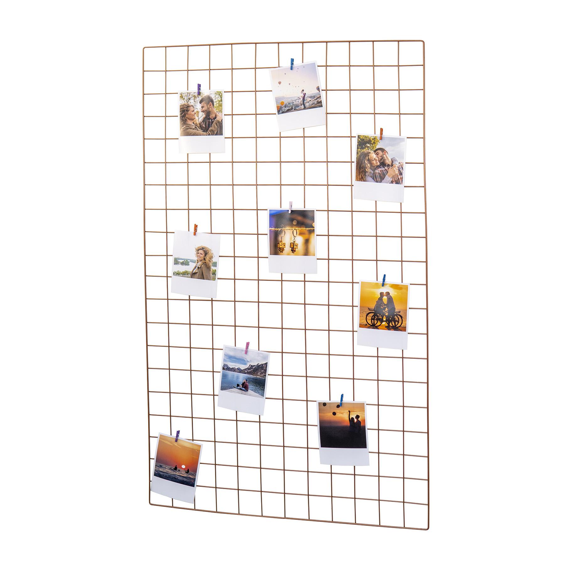 Tela Mural Memory Board 60x100cm Rosé Gold