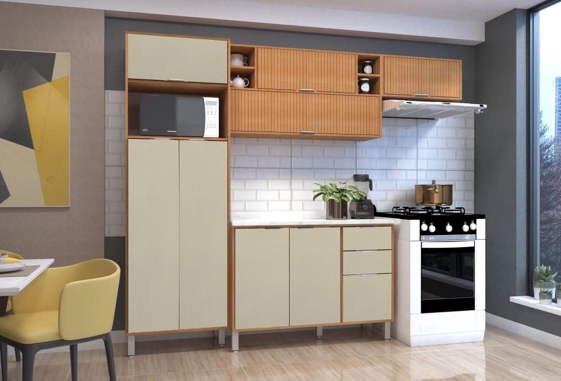 Cozinha  Petra 5 Peças