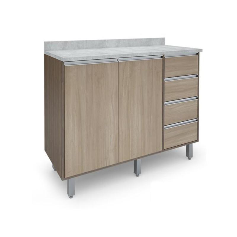 Gabinete 2 Portas 1,20 - Confort