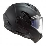 Capacete Articulável LS2 FF 900 Valiant 2 Noir Preto Fosco - C/ Óculos Solar