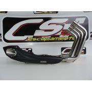 Escapamento Esportivo Full | CS Racing |CBR 600F (2008 - 2013)
