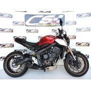 Escapamento Esportivo Full | CS Racing | Honda CB 650R