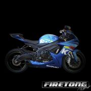 Escapamento Esportivo Full | Firetong | Suzuki SRAD 750 (2007 - 2010)