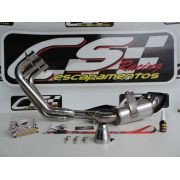 Escapamento Esportivo Full | CS Racing | Yamaha MT-09