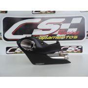Ponteira de Escapamento Esportivo   CS Racing   SRAD 1000