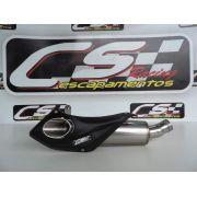 Ponteira de Escapamento Esportivo | CS Racing | Triumph 675R