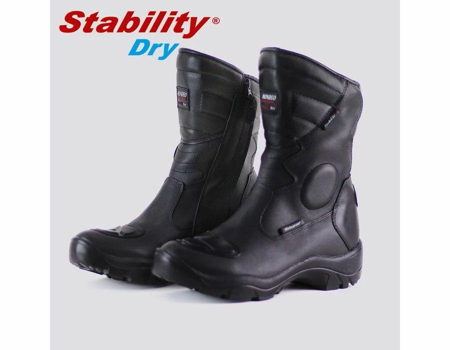 Bota Mondeo Stability Dry 9898 +9cm Altura - 100% Impermeavel