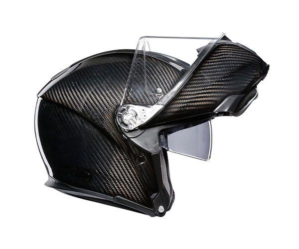 Capacete Articulável AGV SportModular 100% Fibra de Carbono