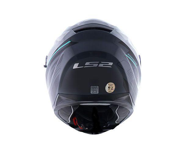 Capacete LS2 FF 320 Stream Ixel - C/ Óculos Solar