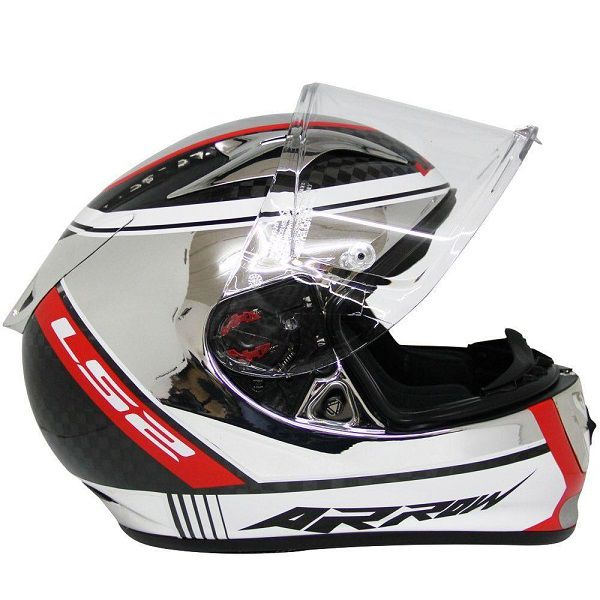 Capacete LS2 FF 323 Arrow C - Carbon Indy 100% Carbono