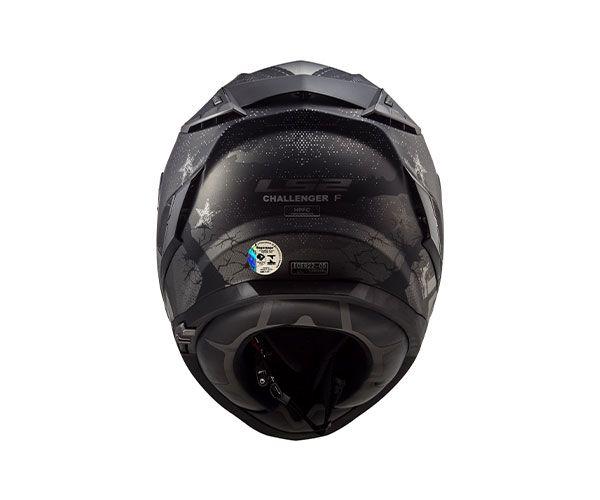 Capacete LS2 FF 327 Challenger Flex