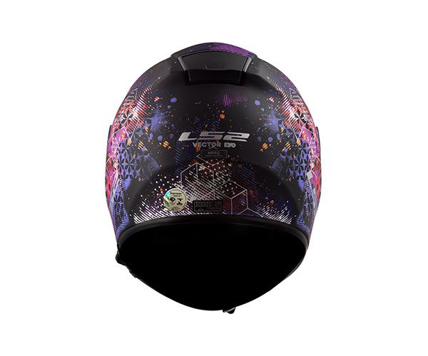Capacete LS2 FF 397 Vector Evo Cosmos - Tri Composto C/ Óculos solar.