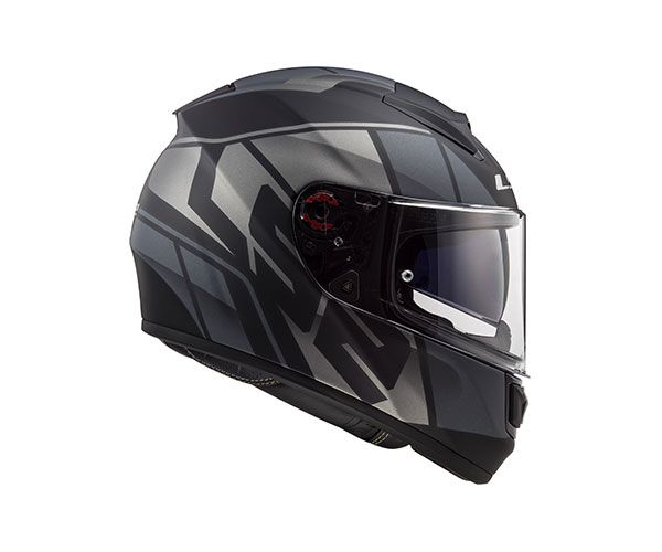 Capacete LS2 FF 397 Vector Evo Kripton - Tri Composto C/ Óculos solar.