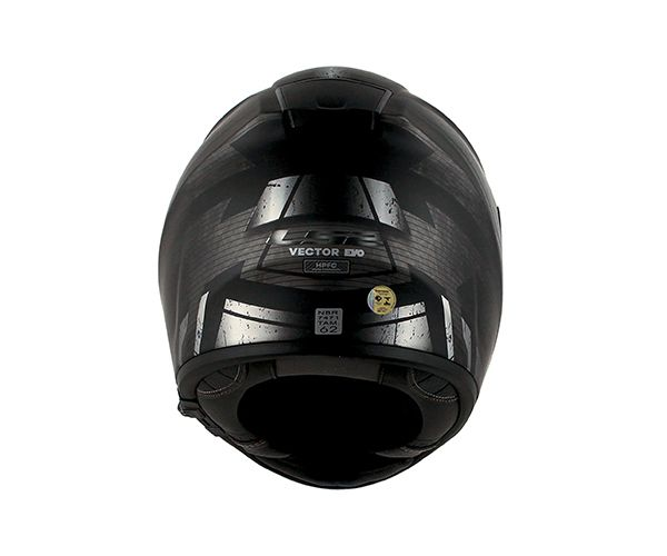 Capacete LS2 FF 397 Vector Evo Razor - Tri Composto C/ Óculos solar.