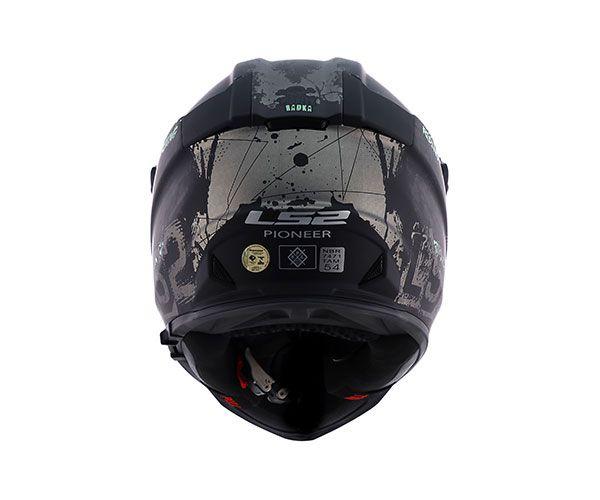 Capacete Ls2 Mx436 Fearless - C/ Óculos Solar
