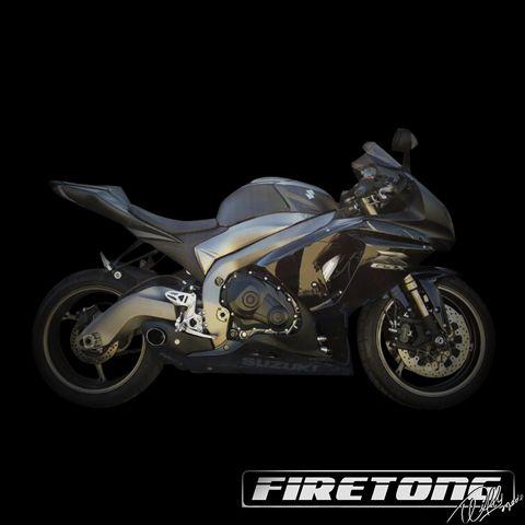 Escapamento Esportivo Full | Firetong | Suzuki SRAD 1000 (2010 - 2013)