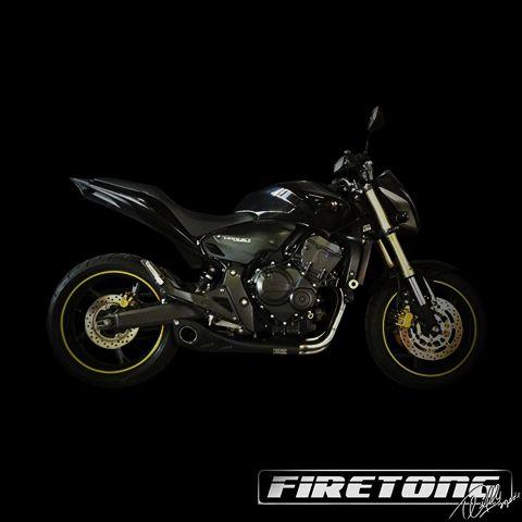 Escapamento Esportivo | Firetong | CB 600F Hornet (2008 - 2014)