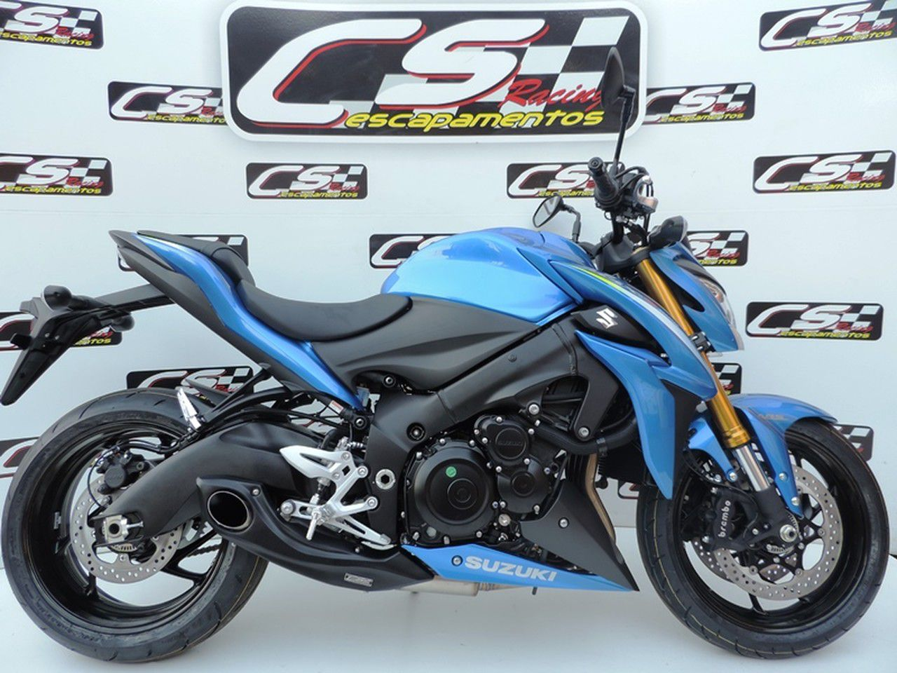 Escapamento Esportivo Full | CS Racing | GSX-S1000 2016 até 2020