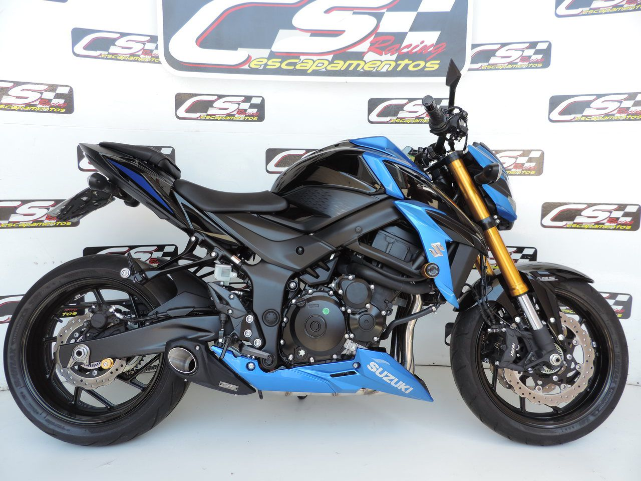 Escapamento Esportivo Full | CS Racing | GSX-S750