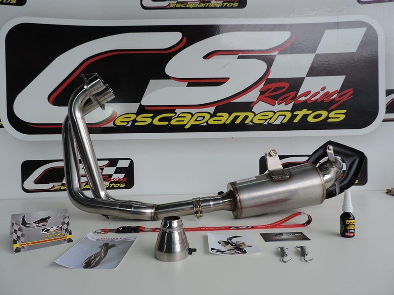 Escapamento Esportivo Full | CS Racing | Yamaha R3