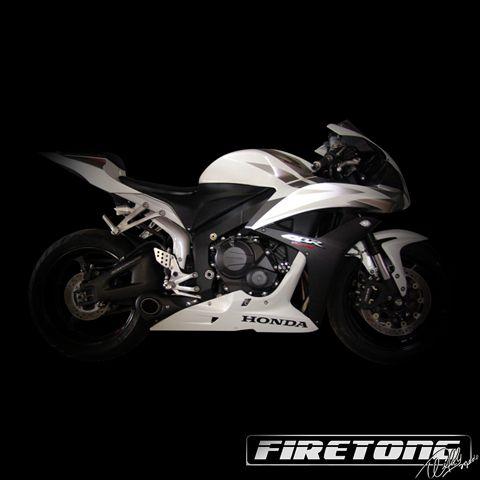 Escapamento Esportivo Full   Firetong   CBR 600RR (2008 - 2014)