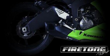 Escapamento Esportivo Full | Firetong |Ninja  ZX-6R (2008 - 2012)