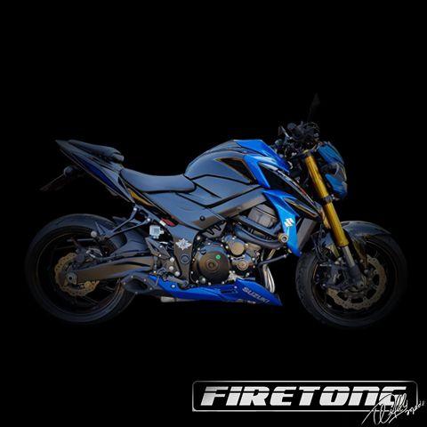 Escapamento Esportivo Full | Firetong | Suzuki GSX-S750 (2017)