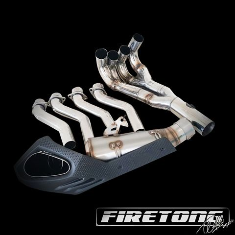 Escapamento Esportivo Full | Firetong | Suzuki SRAD 750 (2014 - 2017)