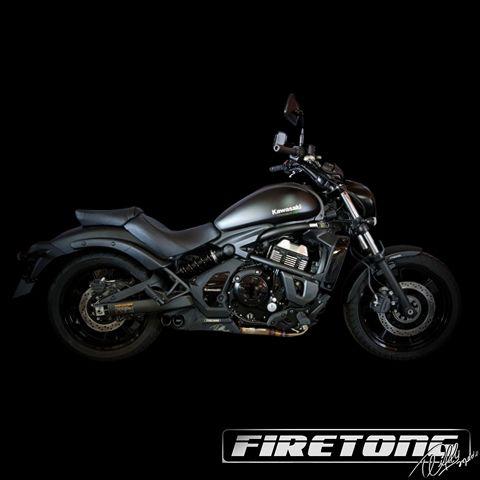 Escapamento Esportivo Full | Firetong |Vulcan S (2017)