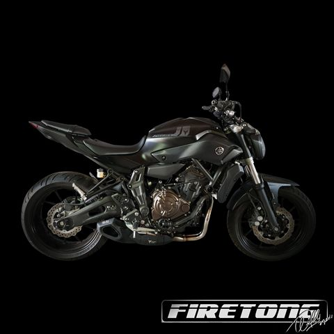 Escapamento Esportivo Full | Firetong | Yamaha MT-07 (2016 - 2017)