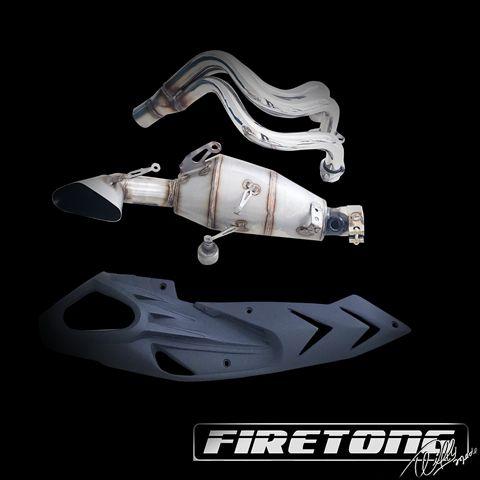 Escapamento Esportivo Full   Firetong   Yamaha MT-09 (2015 - 2017)