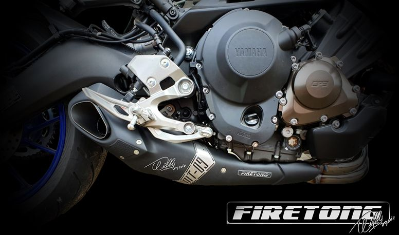 Escapamento Esportivo Full | Firetong | Yamaha MT-09 (2019 - 2020)