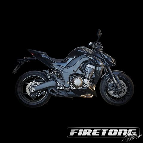 Escapamento Esportivo Full | Firetong |Z1000 (2010 - 2013)