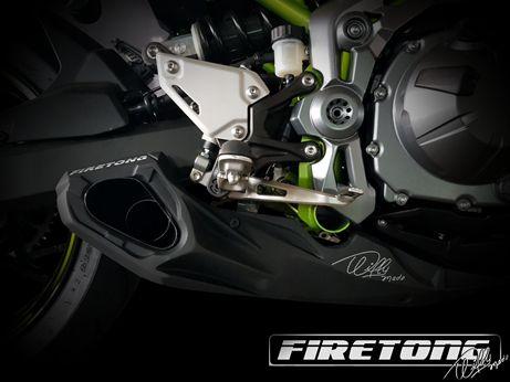 Escapamento Esportivo Full   Firetong   Z900 2018-2020