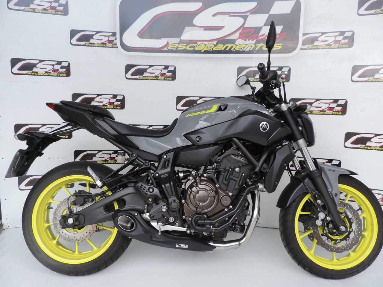 Escapamento Esportivo Full | CS Racing | Yamaha MT-07