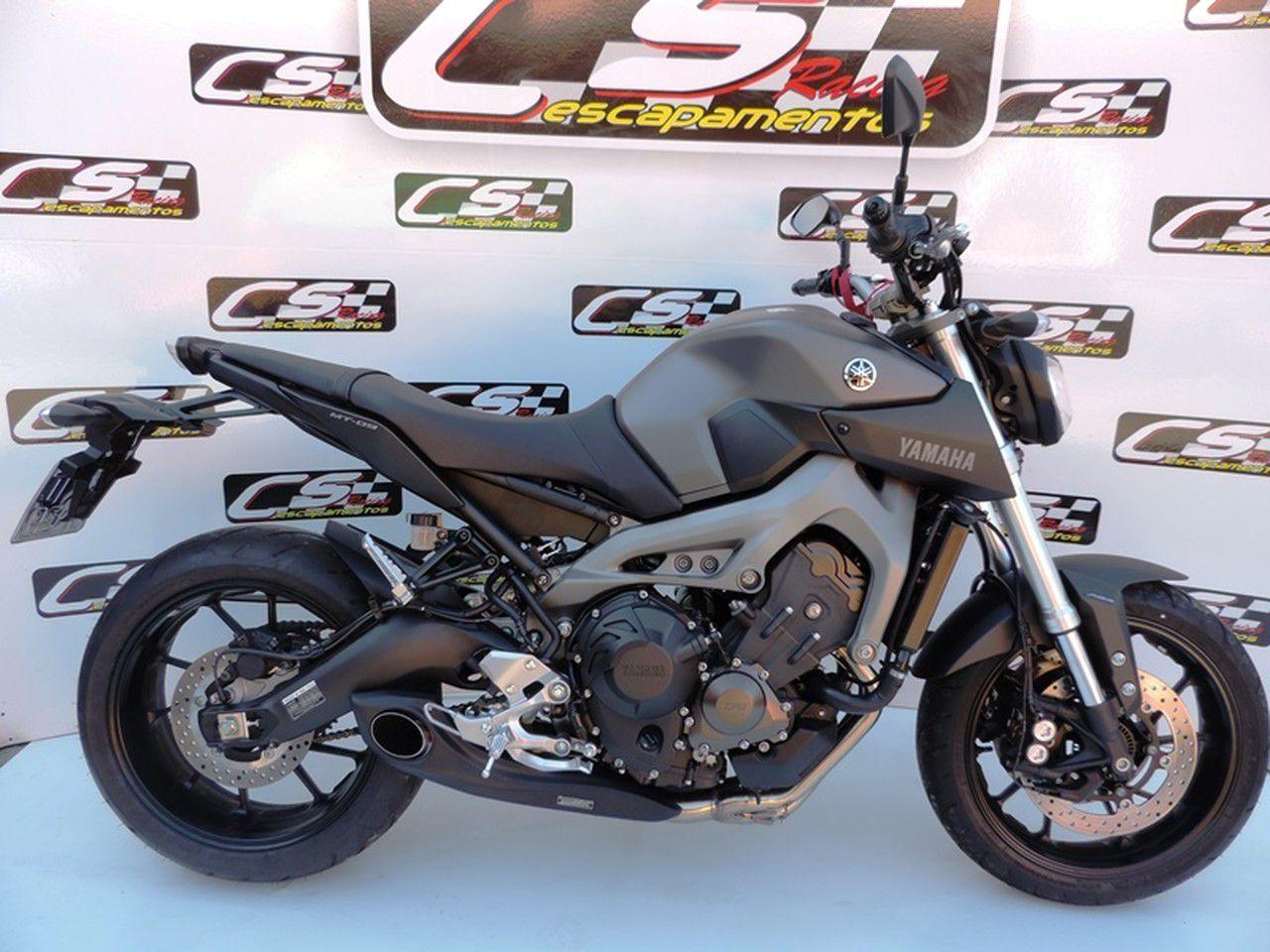 Escapamento Esportivo Full   CS Racing   Yamaha MT-09