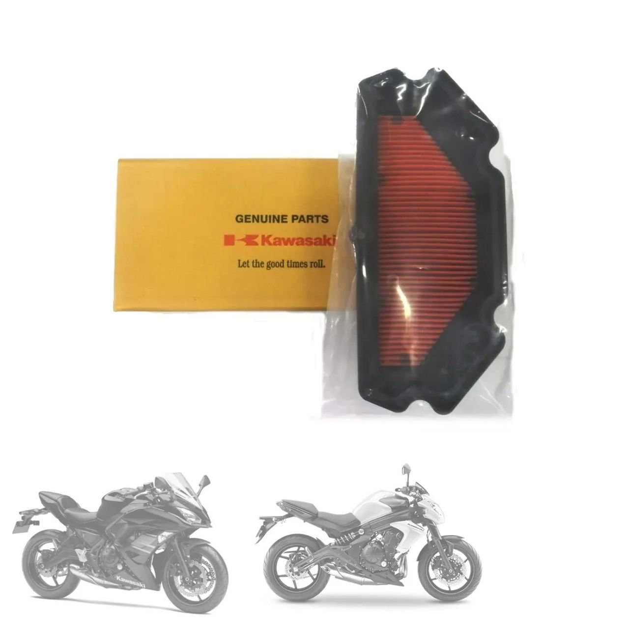 Filtro de Ar | Original Kawasaki | Ninja 600