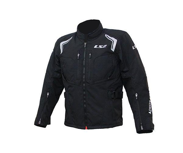 Jaqueta LS2 Gallant Black Parka - Impermeavel / Ventilada