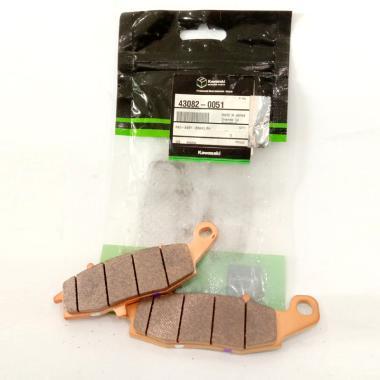 Kit Pastilhas de Freio Dianteiras | Original Kawasaki| ER-6N (2011/12)