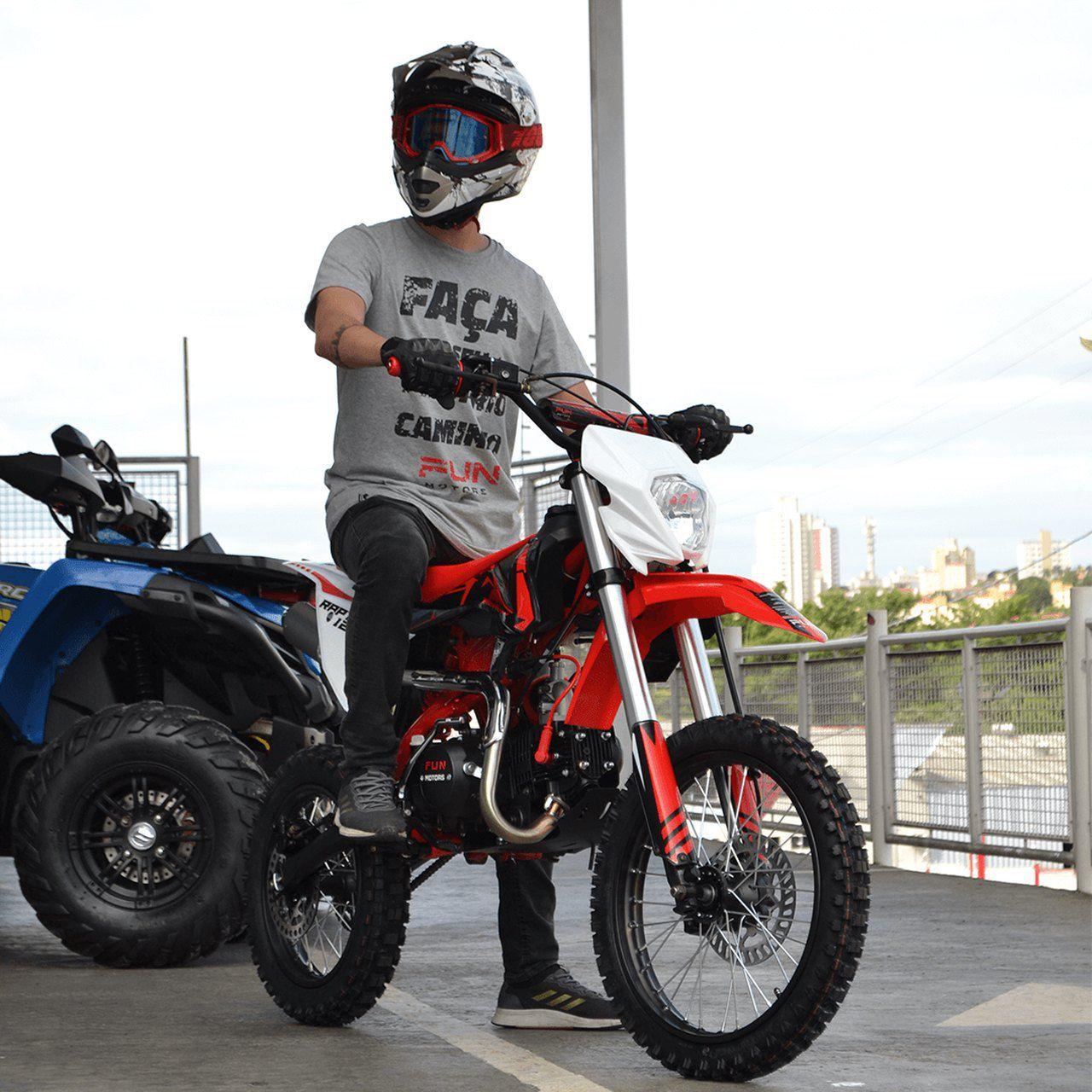 Mini Moto Raptor 125cc | FUN Motors