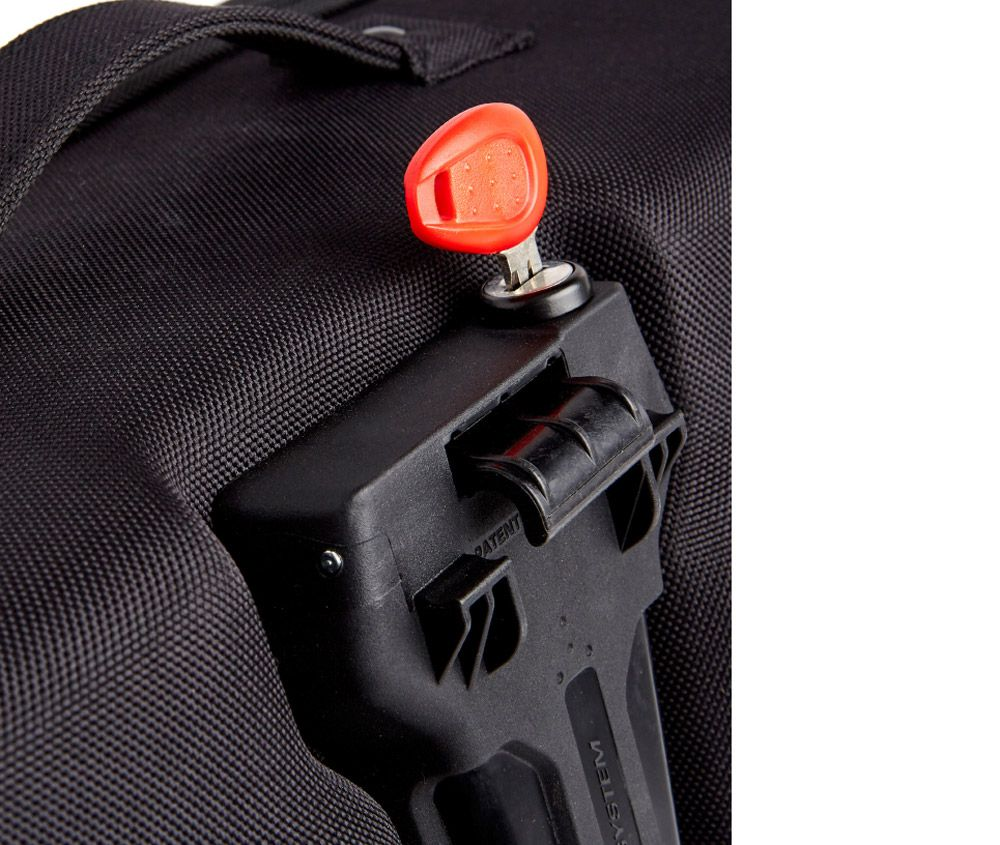 Par Alforge Lateral Rigido - 17 Lts - Easy Lock - Impermeável RA314 Kappa
