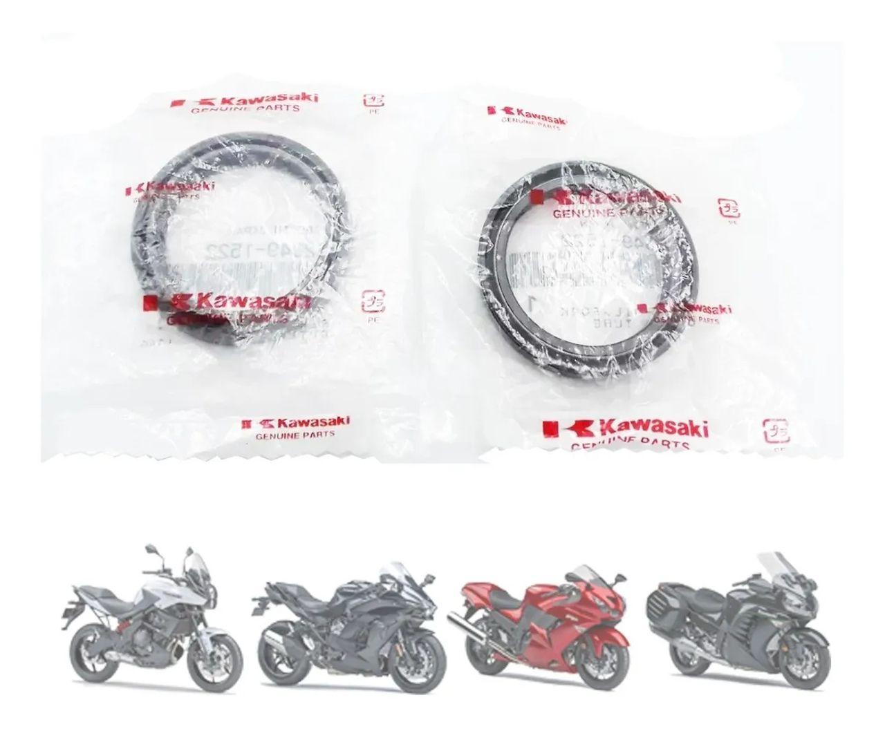 Par de Retentores de Óleo da Bengala | Original Kawasaki | Concours 14