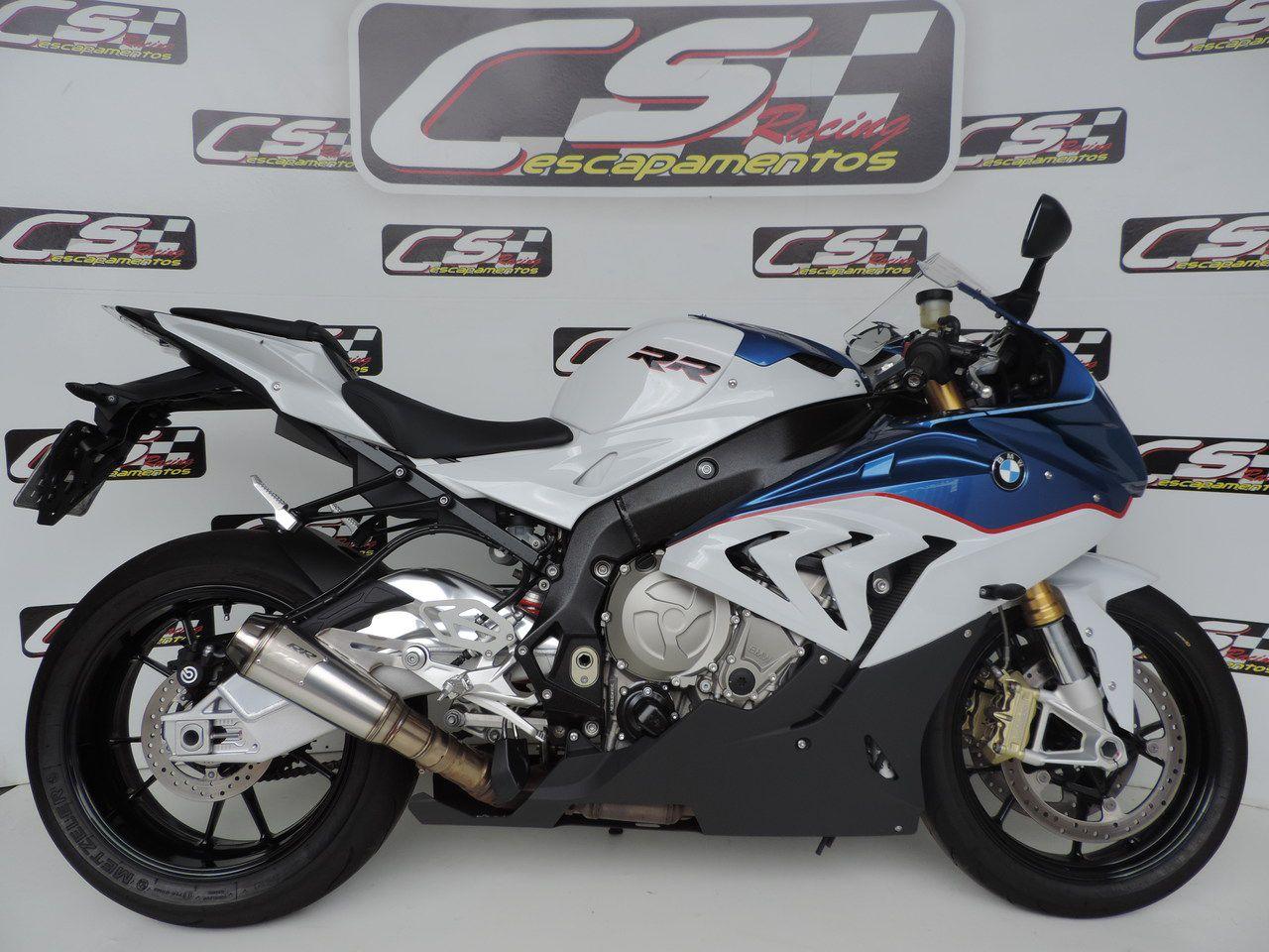Ponteira de Escapamento Esportivo | CS Racing | BMW S1000RR