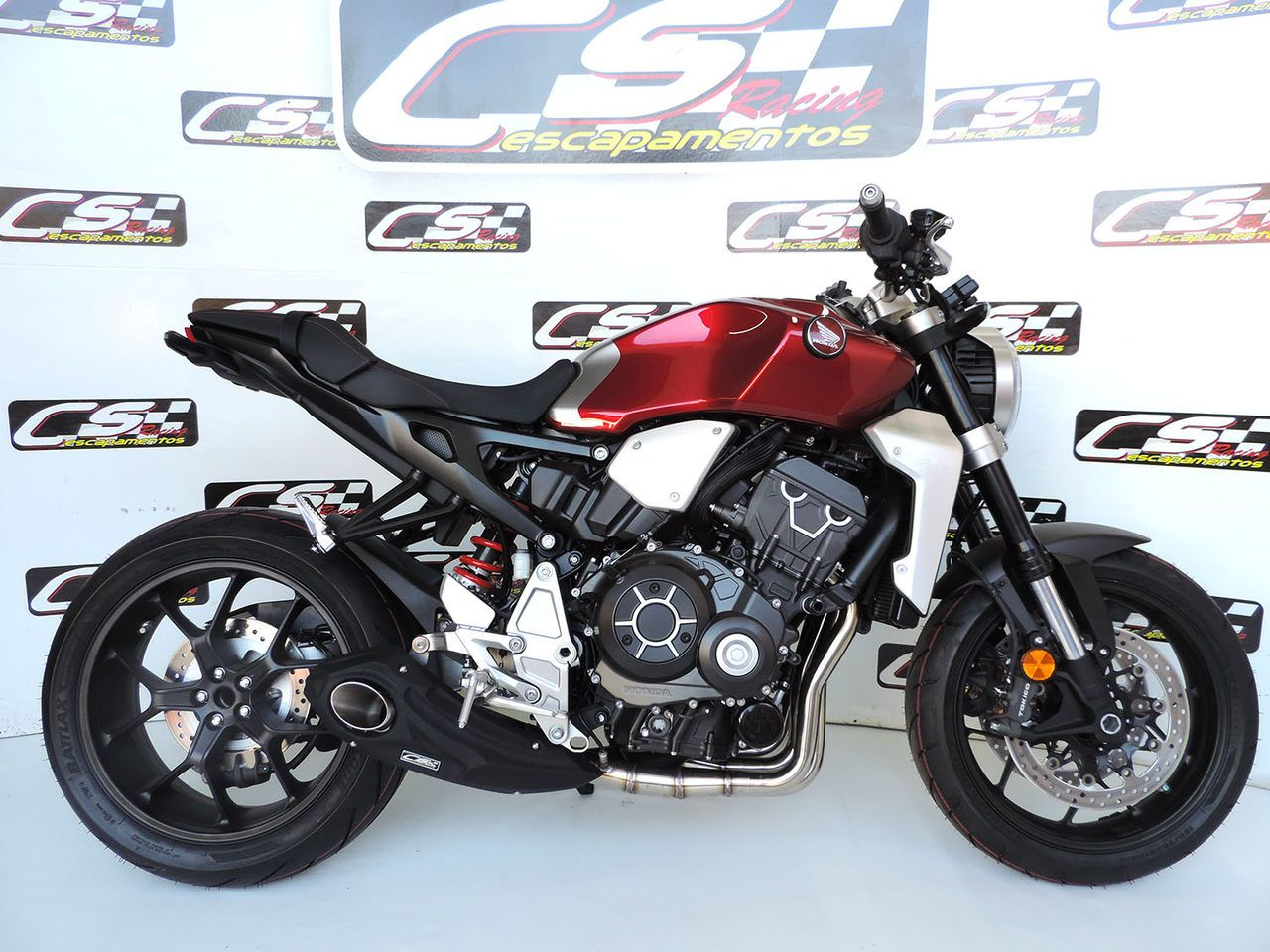 Ponteira de Escapamento Esportivo   CS Racing   Honda CB1000R (2019)