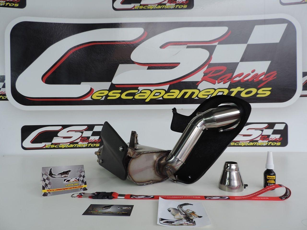 Ponteira de Escapamento Esportivo | CS Racing | SRAD 1000