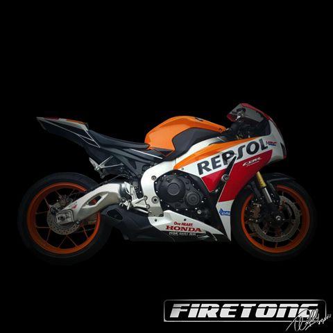 Ponteira Escapamento Esportivo | Firetong | CBR 1000RR (2012 - 2017)