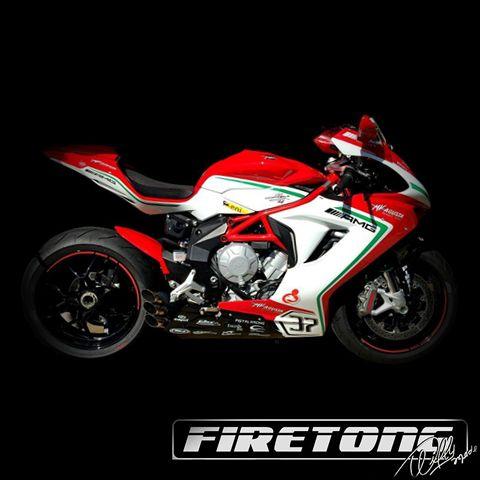 Ponteira Escapamento Esportivo | Firetong | MV Agusta F3 (2014 - 2017)